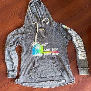 Ron Jon Surf Shop LBI Grey & Rainbow Sweatshirt